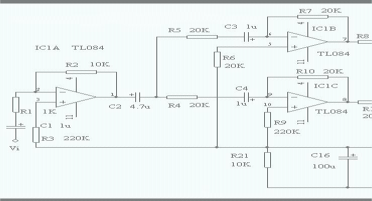 简单功放电路图讲解