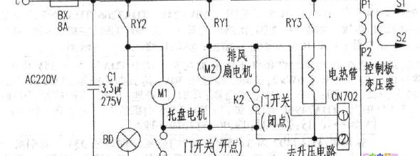 电路 电路图 电子 原理图 590_220