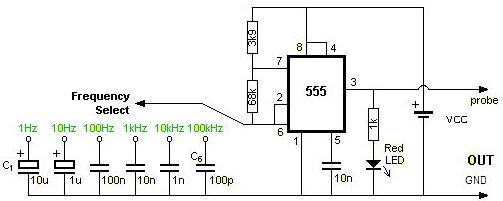 方波发生器电路图324