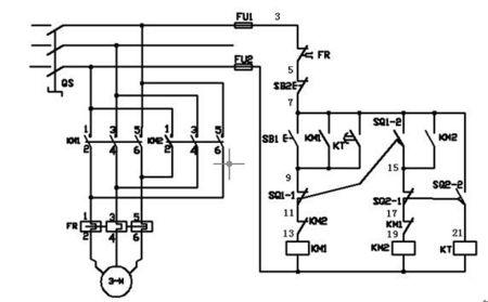 电动机延时启动电路图图片