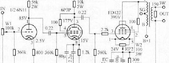 fu5单端电路图