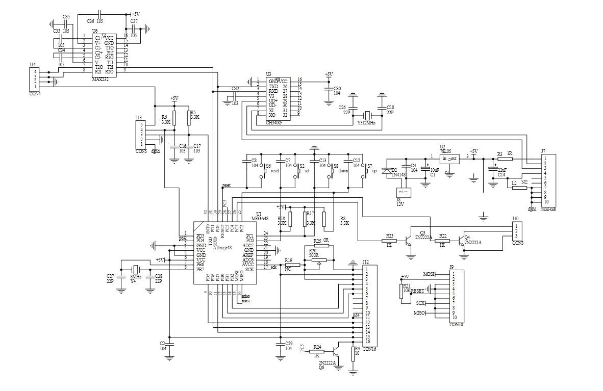 比亚迪f3中控锁电路图