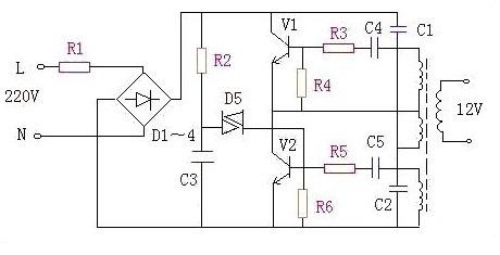 电路 电路图 电子 原理图 460_235