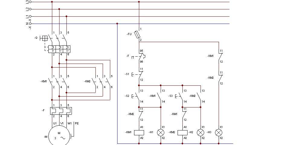 交流发电机电路图