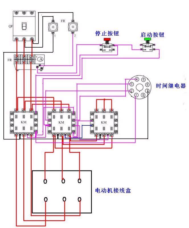继电器5脚接线电路图