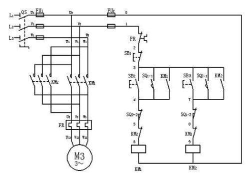 8腳繼電器制鎖接線圖