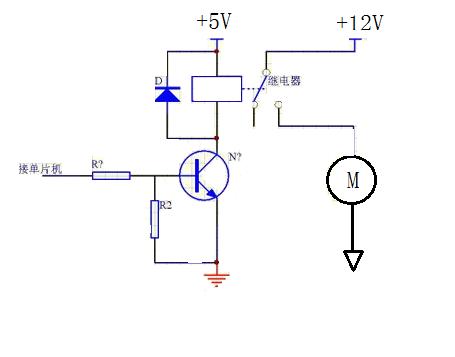 继电器的接线图
